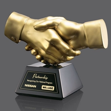 Picture of Trophy - Others - Shaking Hands