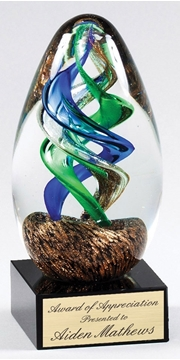 Picture of Trophy - Glass Blowing Art - GLSC46