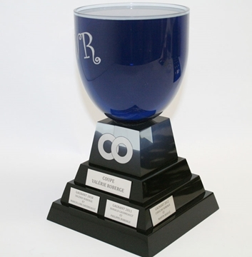 Picture of Custom-made - Acrylic trophy - Coupe Valérie Roberge