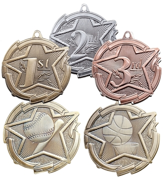 Picture of Medal - Set - M1700 2.375""