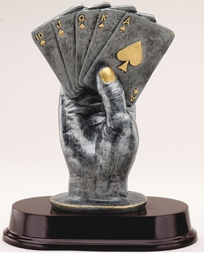 Picture of Trophy - Others - RF2771 - Cards in hand