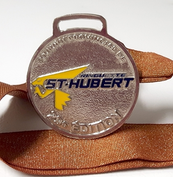 Picture of Medal - Custom-made metal - Ringuette St-Hubert