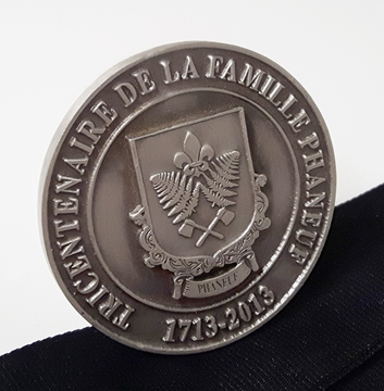 Picture of Medal - Custom-made metal - Family tercentenary