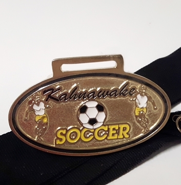 Picture of Medal - Custom-made métal - Soccer Kahnawake