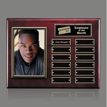 Picture of Wall Plaque - Perpetual - Photo and 12 personalisations