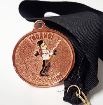 Picture of Medal - Custom-made metal - Repentigny Tournament