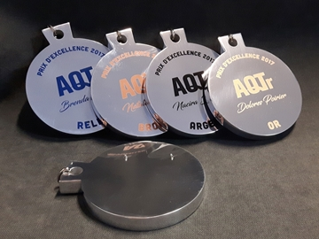 Picture of Medal - Custom-made aluminium - AQTR