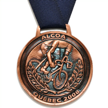 Picture of Medal - Custom-made metal - Alcoa