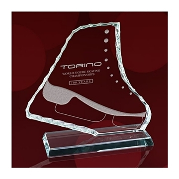 Picture of Trophy - Crystal - Ice Skate