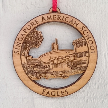 Picture of Medal - Wood - Eagles