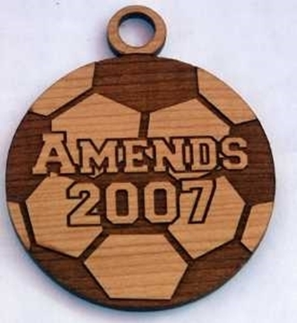 Picture of Medal - Wood - Amends