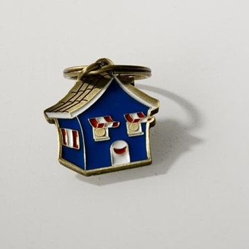 Picture of Medal - Key ring and pin - House