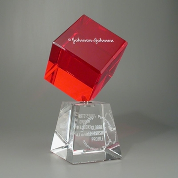 Picture of Trophy - Tombstone - Cube - Johnson