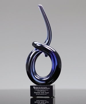 Picture of Trophy - Glass Blowing Art - GLSC21