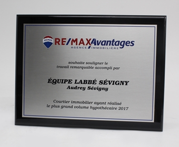 ReMax plaque murale