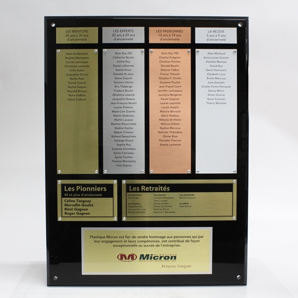 R2M Awards | Custom Trophy, Wall Plaque, Commemorative