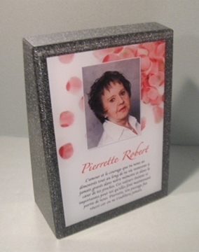 Picture of Custom-made -Granite funeral Plaque