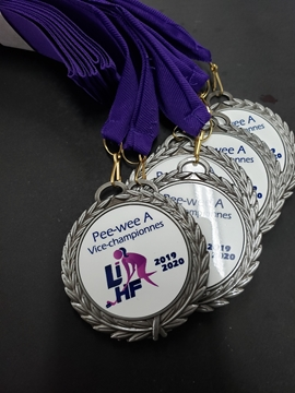 Picture of Medal - Engraved/Printed - LIHF 2.75''