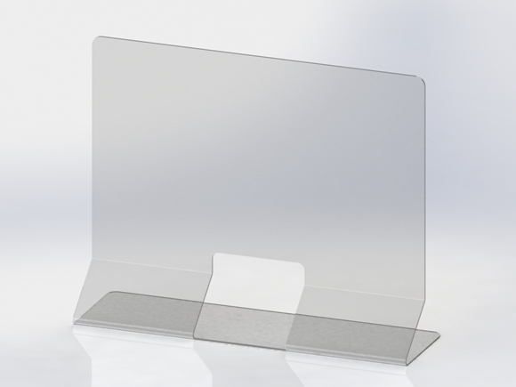 Picture of covid - Acrylic Panel Folded- Fab40