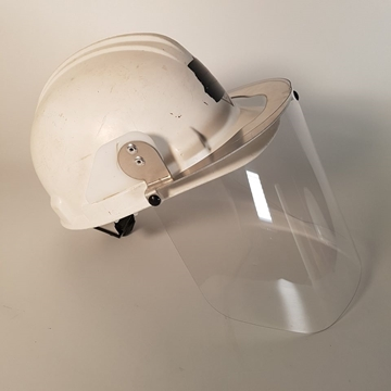 Picture of covid - Plexiglass Visor for hard hat